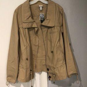 Lane Bryant Zip Up Jacket